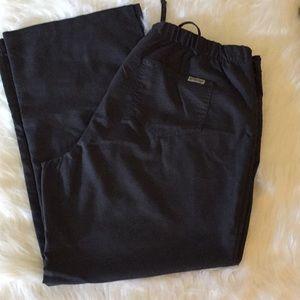 Grey's Anatomy Charcoal Gray Scrub Pants
